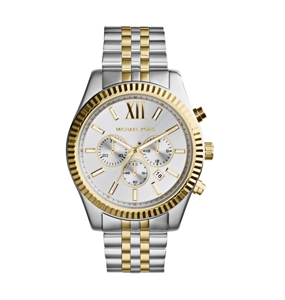 Michael Kors Lexington MK8344 unisex horloge 10Happy