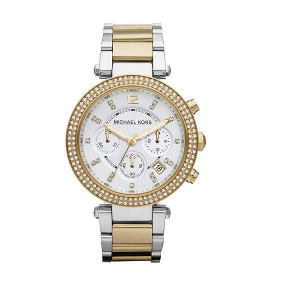 Michael Kors Parker 2-Tone MK5626 Dames horloge 10Happy