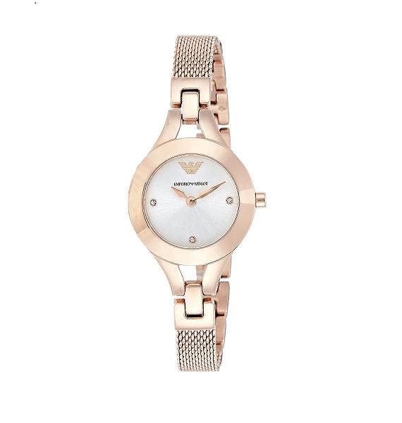 Emporio Armani Chiara AR7362 dames horloge 10Happy