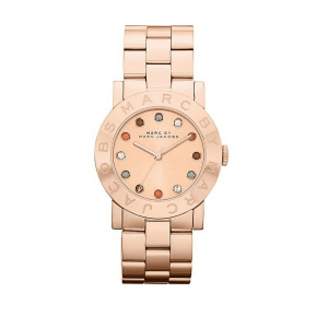 Marc Jacobs Amy Medium MBM3142 10happy dames horloge