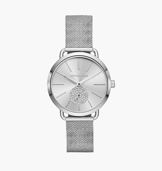 Michael Kors Portia Silver MK3843 dames horloge 10Happy