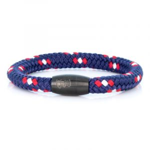 STEEL & ROPE | FISHERMAN CAPTAIN heren armband 10Happy