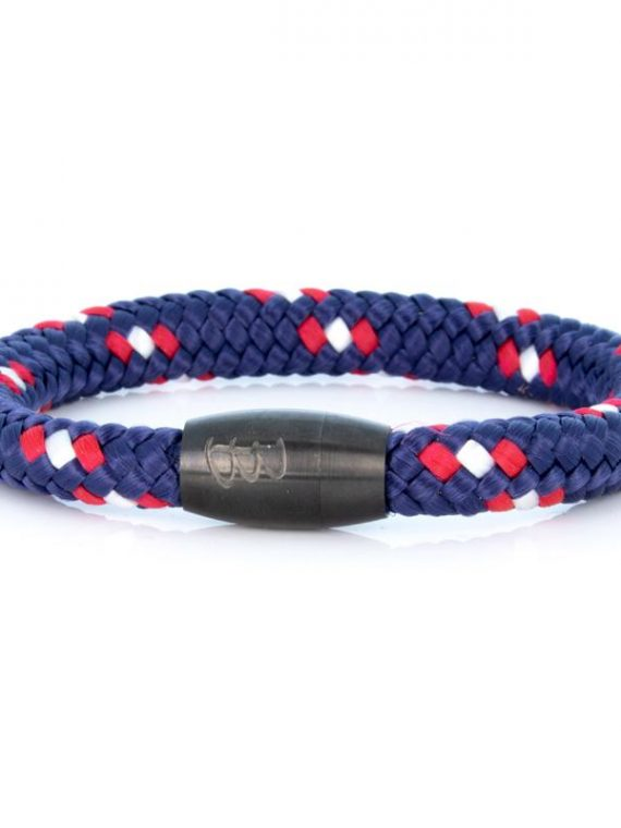 STEEL & ROPE | FISHERMAN CAPTAIN heren armband 10Happy