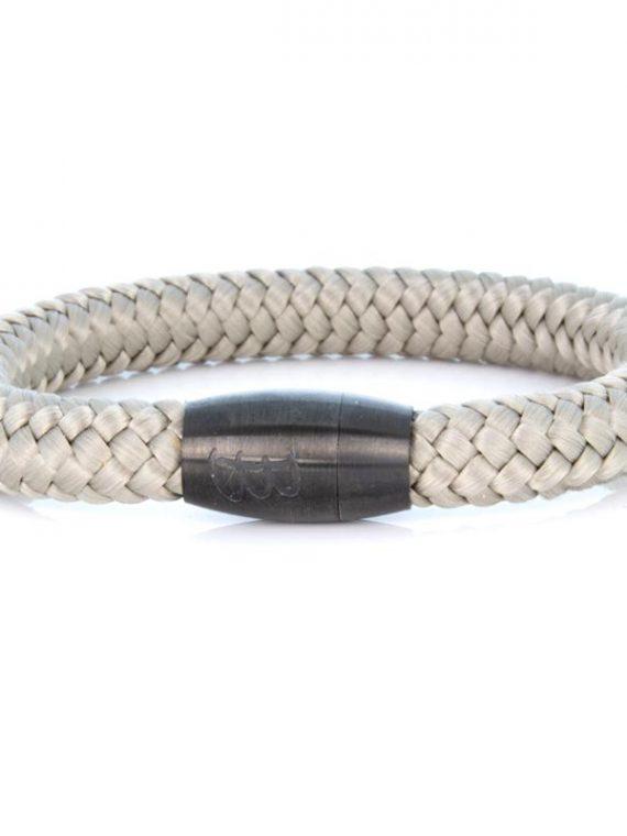 STEEL & ROPE | FISHERMAN SAND heren armband 10Happy