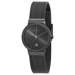 Skagen 355SMM1 Anchor Black Slimline dames horloge 10Happy
