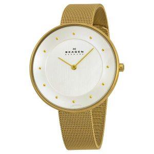 Skagen SKW2141 Gitte Gold dames horloge 10Happy