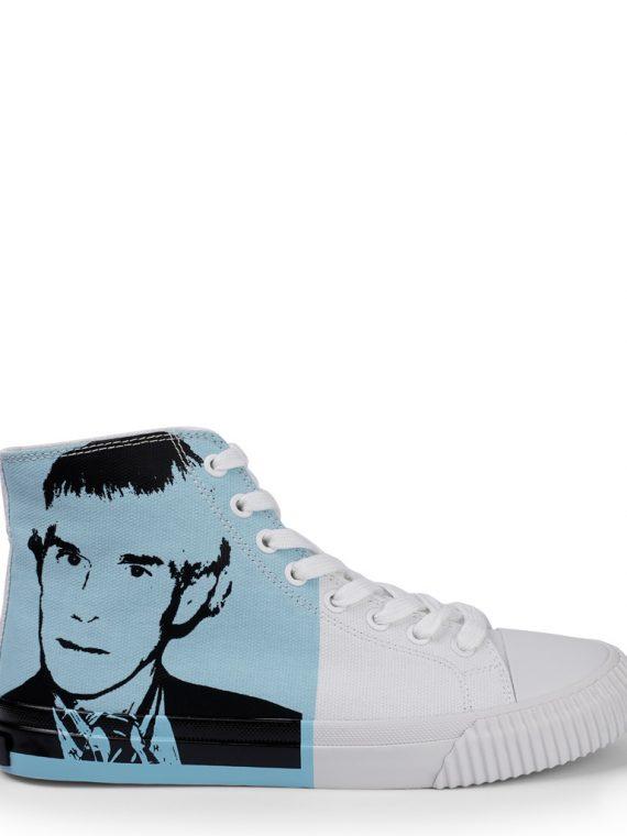 Calvin Klein R4136_WLB dames sneakers wit/blauw 10Happy
