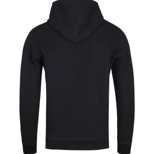 Diesel S-Gina Felpa Black Zip-Up Hoodie 10Happy