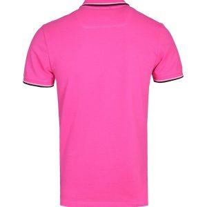 Diesel T-Randy Broken Logo Polo shirt roze 10Happy