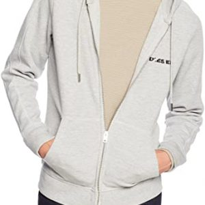 Diesel S-Gina Grijs Marl Zip Through Hoodie 10Happy