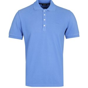 Diesel T-Night Broken Ocean Blue Polo Shirt 10Happy