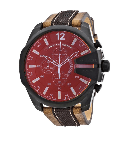 Diesel Mega Chief DZ4305 Heren horloge 10Happy
