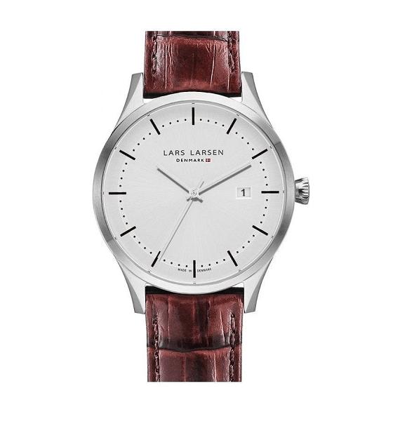 Lars Larsen Alex Retro & Vintage 119 Bruin heren horloge 10Happy