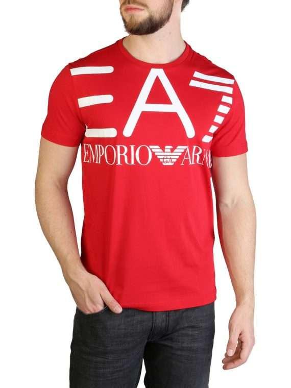 Emporio Armani EA7 T-shirt rood 10Happy