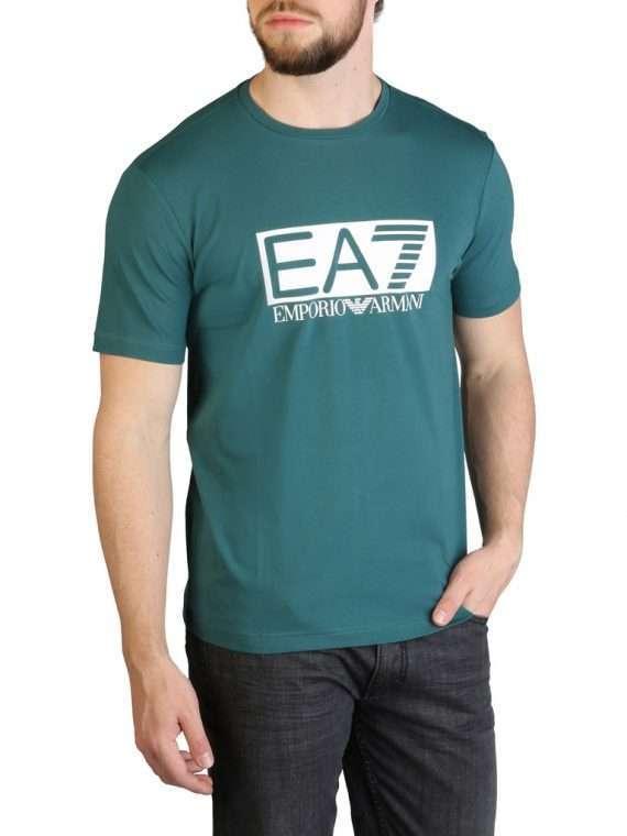 Emporio Armani EA7 T-shirt groen 10Happy