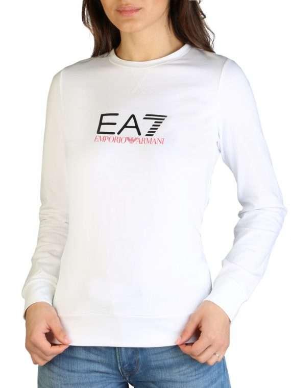 Emporio Armani t-shirt wit lange mouw 10Happy