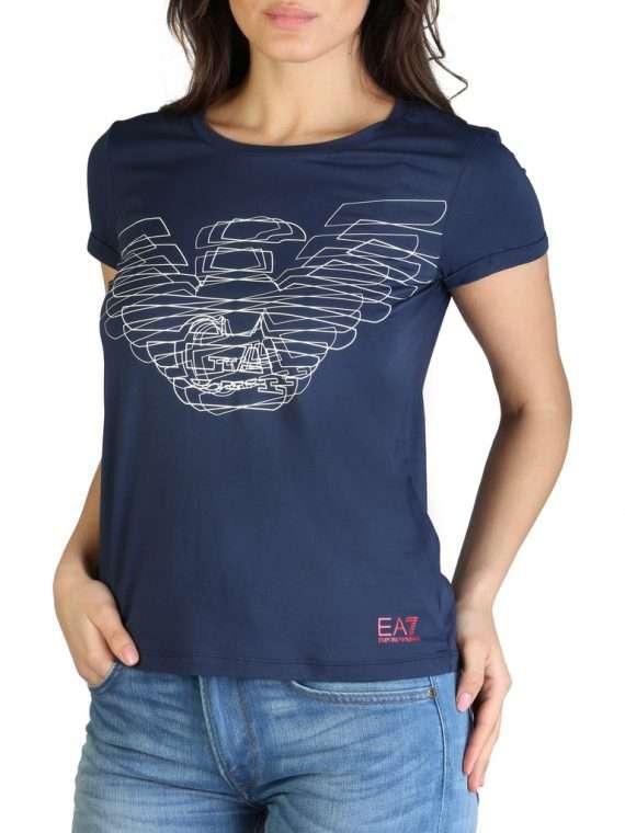 Emporio Armani dames t-shirt navy 10Happy