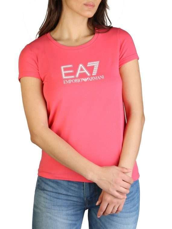 Emporio Armani dames t-shirt roze 10Happy