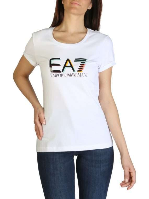 Emporio Armani dames t-shirt wit korte mouwen 10Happy