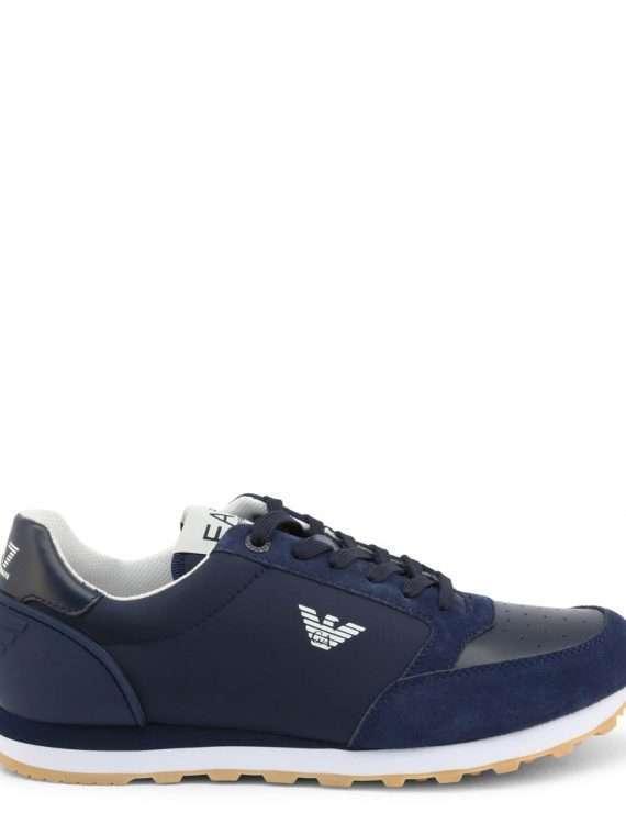Emporio Armani sneaker heren navy blauw 10Happy