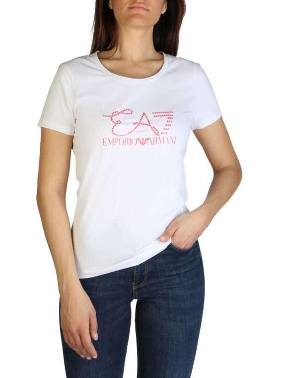 Emporio Armani dames t-shirt wit 10Happy
